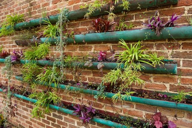 copper vertical garden - Contemporary - Landscape - Perth - by - sustainable garden design