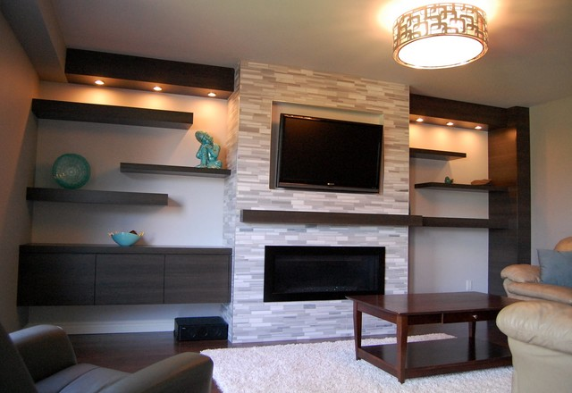 Wall Units - Contemporary - Living Room - Toronto - by Cabinet - wall units for living rooms