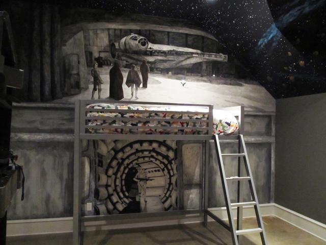 Star Wars Ideas Houzz - star wars bedroom ideas