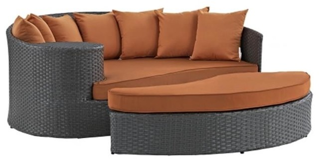 East End Imports Sojourn Outdoor Patio Daybed Tropical