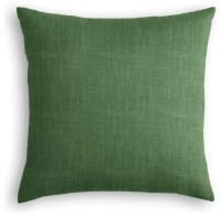 Shop Houzz | Loom Decor Dark Green Linen Throw Pillow ...