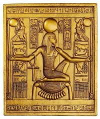 Ancient Egyptian Temple Wall Decor King Tut Sculptural ...