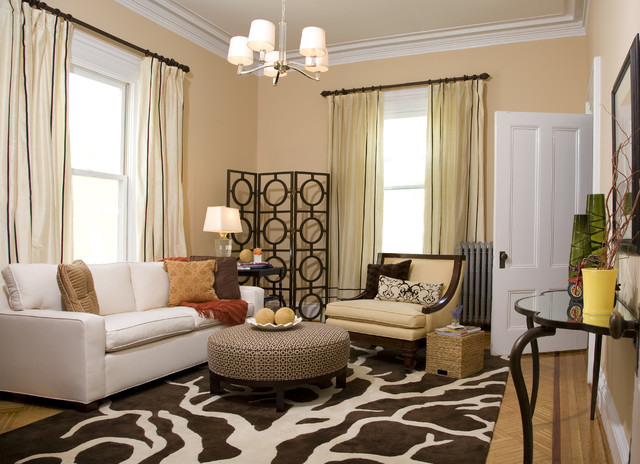 So Your Style Is Transitional - transitional style living room