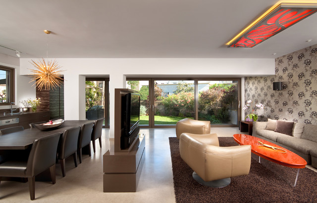 living room - Contemporary - Living Room - Other - by Elad Gonen - tv in living room