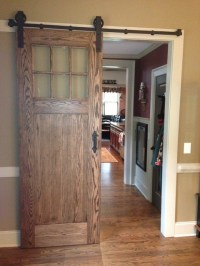 Inerior barn door style sliding doors - Traditional ...
