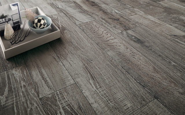 Madeira anthracite porcelain wood tiles wood effect