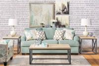 Seafoam Sofa Living Room