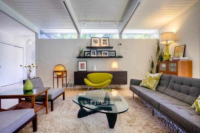 Laurelhurst House - Midcentury - Living Room - Seattle - by Daniel - mid century modern living room