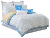 Southern Tide Sailgate Full Yellow Comforter Set - Beach ...