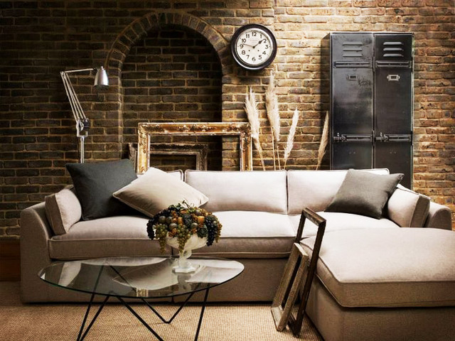 Living spaces - Industrial - Living Room - New York - by sofa USA - living room furniture nyc