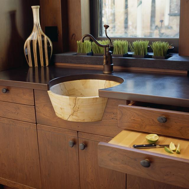 Craftsman Teahouse - Craftsman - Kitchen - Dc Metro - By Gardner