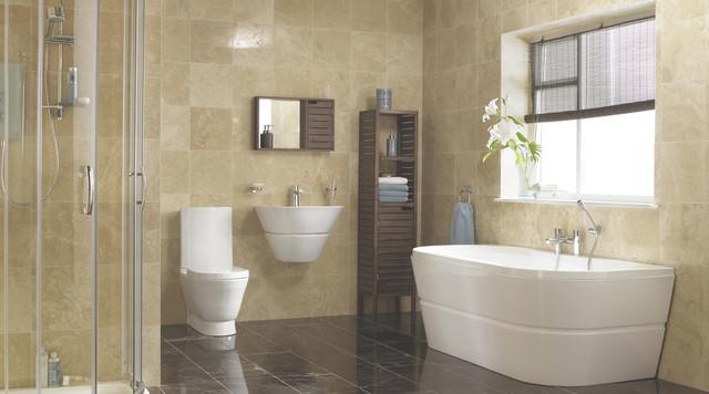 Rosalind bathroom suite contemporary bathroom