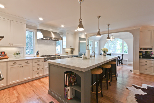 classic coastal colonial renovation the anti mcmansion traditional kitchen newark