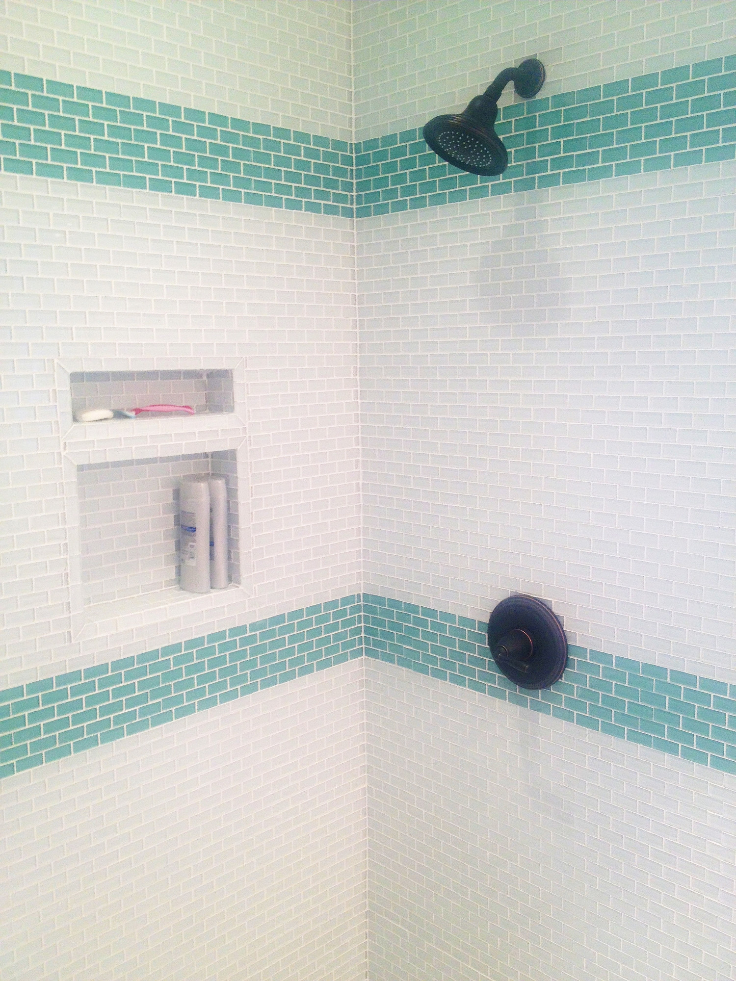 Glass Subway Tile Bathrooms By Subwaytileoutlet Com Contemporary Bathroom Other By Subway Tile Outlet Houzz