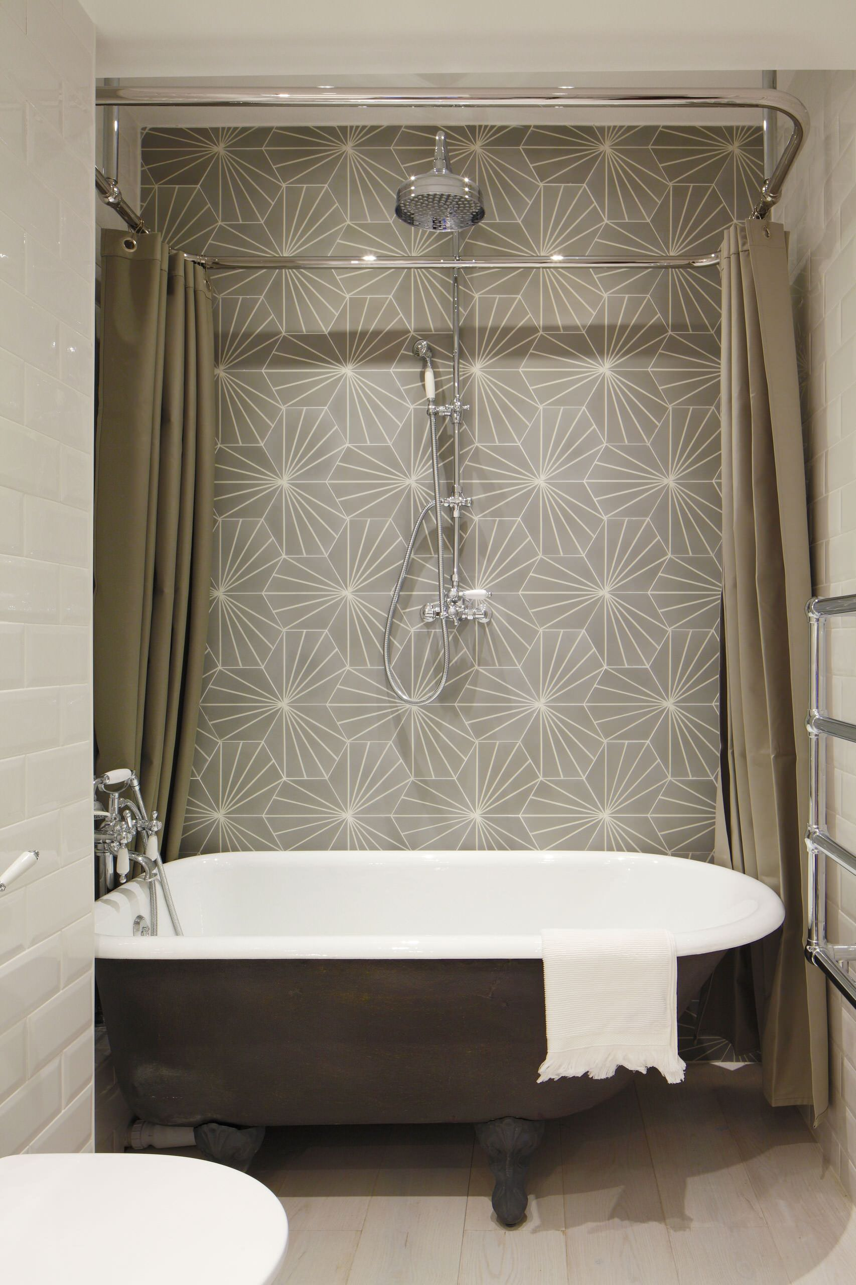 Luxury Loft Apartment Bathroom Industrial Bathroom London By Oliver Burns Houzz