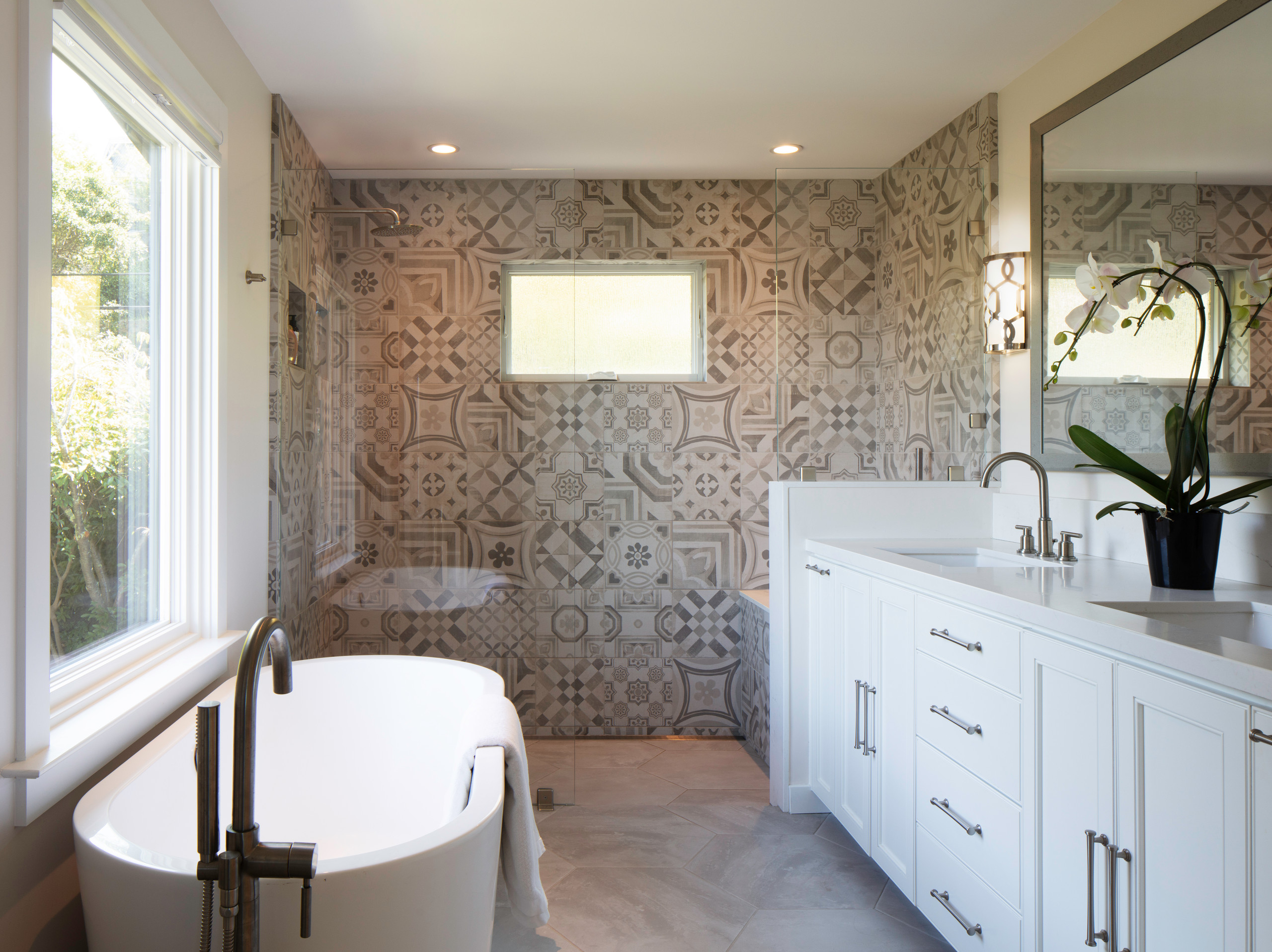 75 Beautiful Beige Tile Bathroom Pictures Ideas November 2020 Houzz