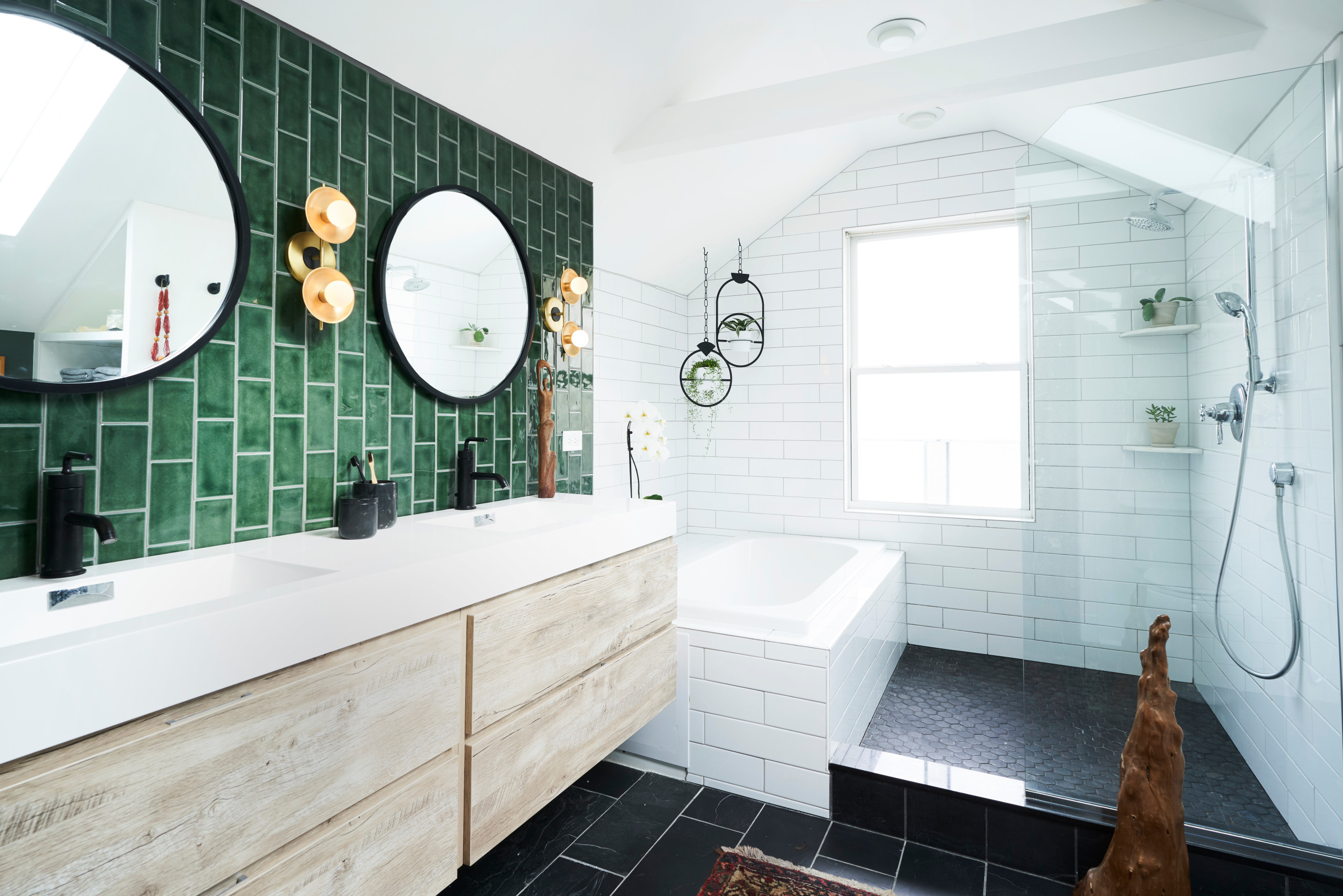 75 Beautiful Slate Floor Bathroom Pictures Ideas November 2020 Houzz