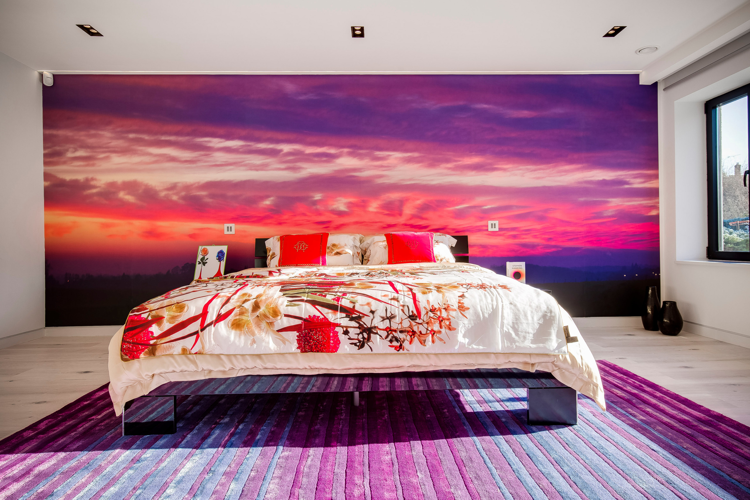 75 Beautiful Huge Pink Bedroom Pictures Ideas February 2021 Houzz