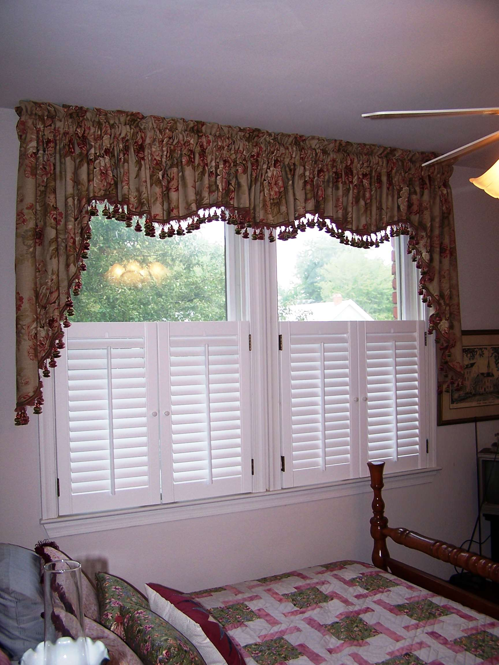Gathered Valance | Houzz