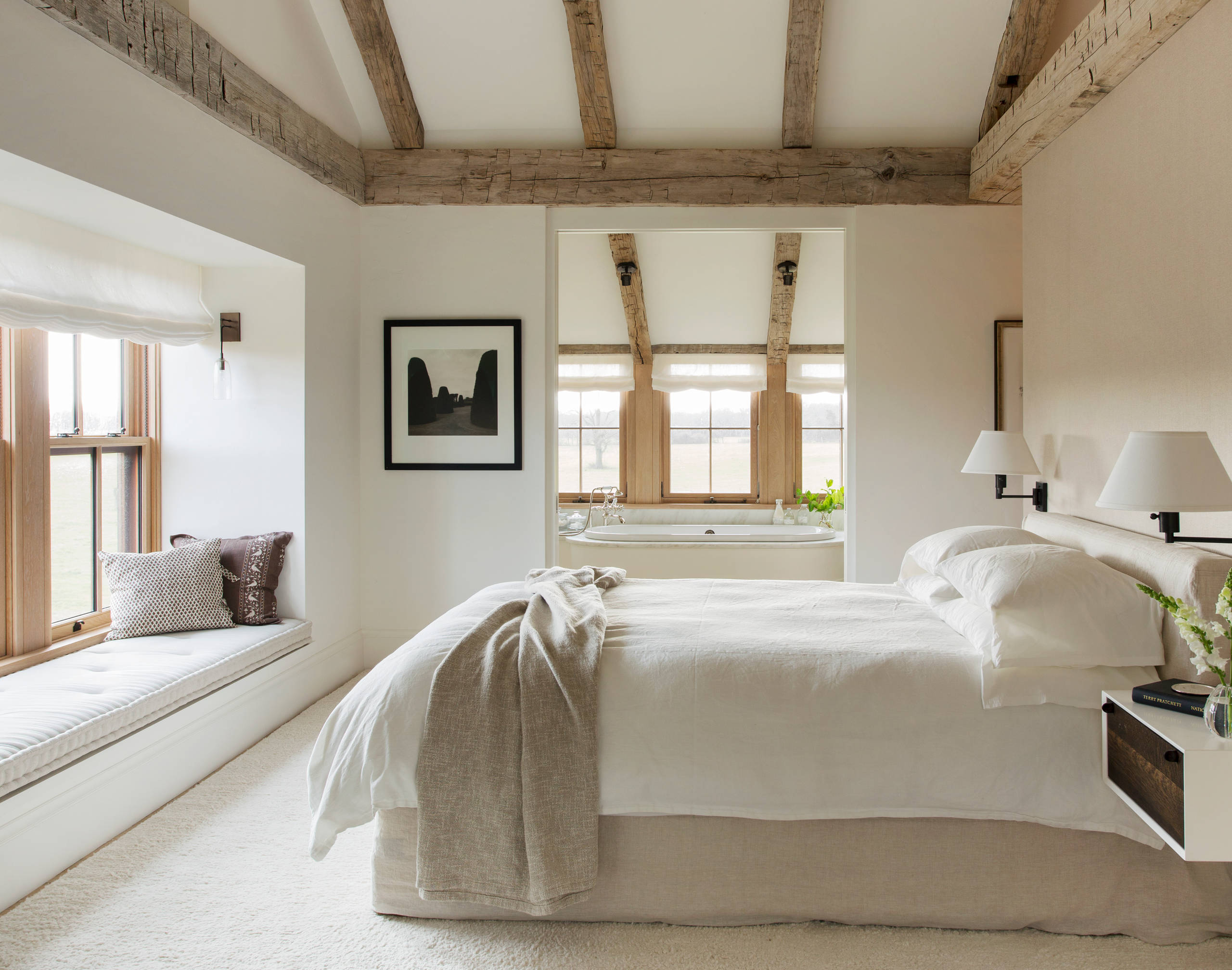75 Beautiful Farmhouse Bedroom Pictures Ideas November 2020 Houzz