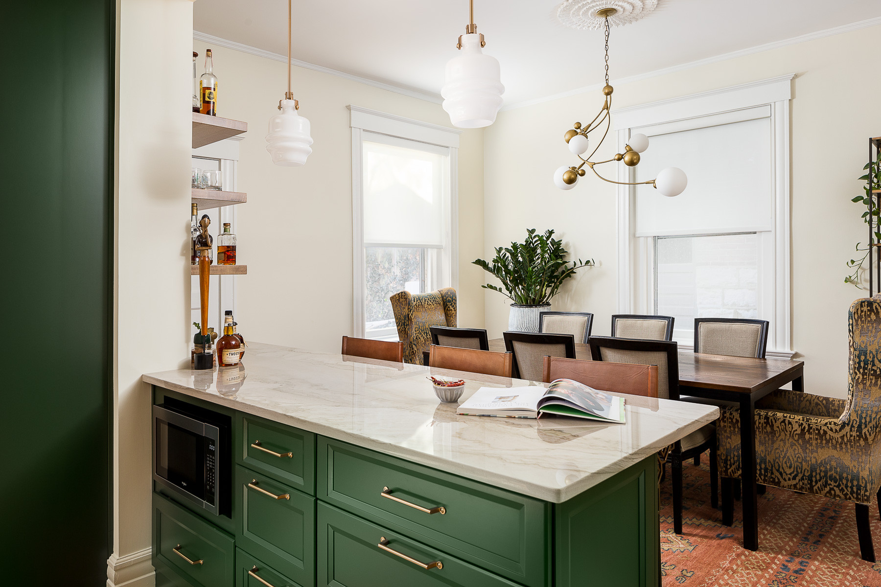 75 Beautiful Small Kitchen Dining Room Combo Pictures Ideas May 2021 Houzz