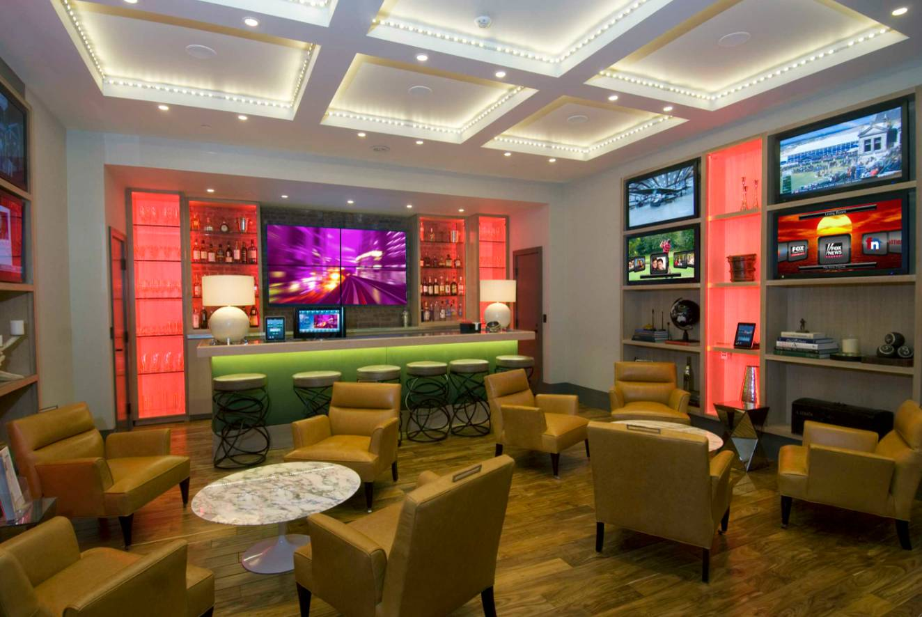 Brunswick Game Room In Houston Texas Contemporary Family Room Houston By Billiard Factory Houzz