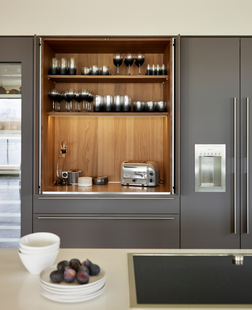 Bulthaup B3 A Bulthaup B3 Kitchen In A Lakeside Home - Contemporary - Kitchen - Wiltshire - By Hobsons Choice | Houzz