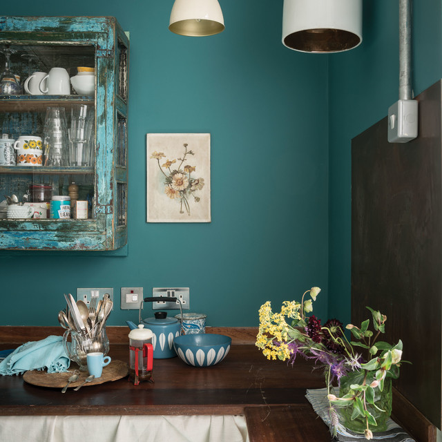 Farrow And Ball München A Kitchen Painted In Vardo No.288 By Farrow & Ball ...