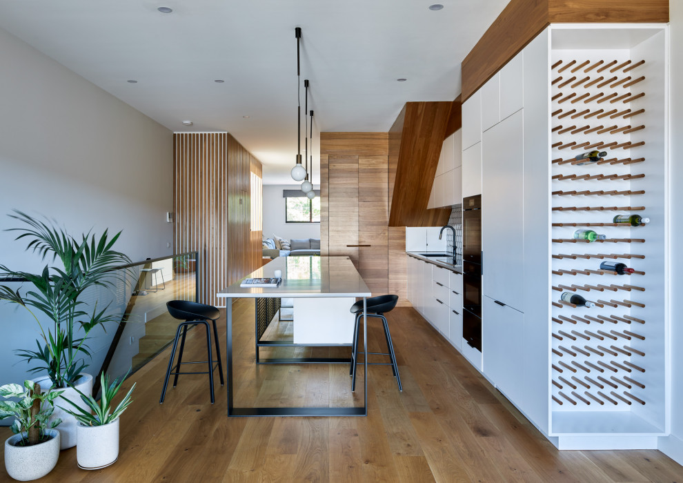 Abbotsford Townhouse Contemporary Kitchen Melbourne