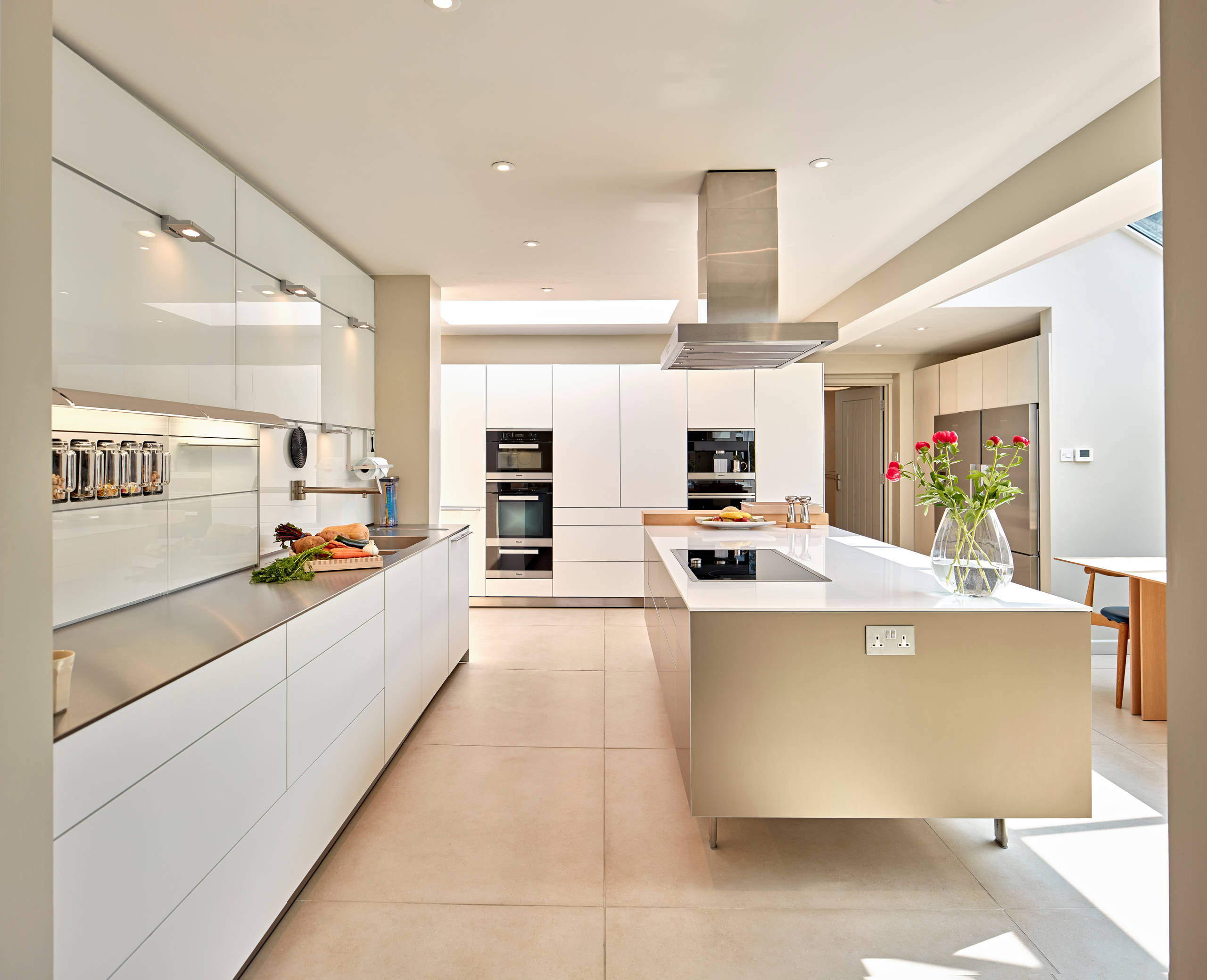 Bulthaup B3 Bulthaup B3 Kitchen- Reflective Metals And Light Wood - Contemporary - Kitchen - Hampshire - By Hobsons Choice | Houzz