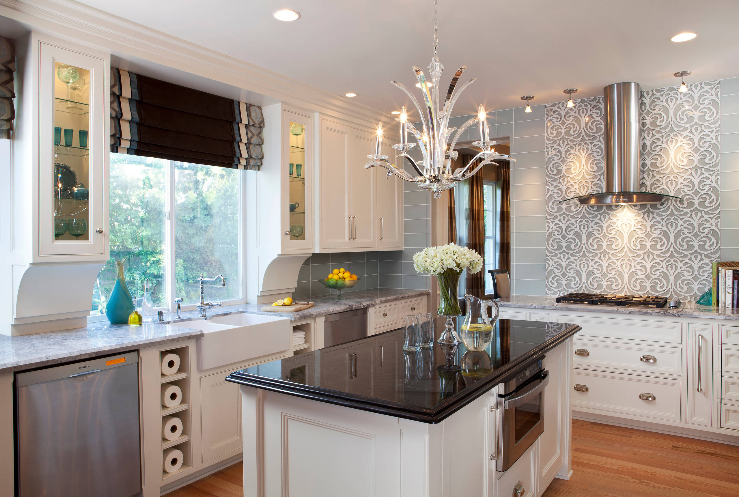 Glam Kitchen Houzz