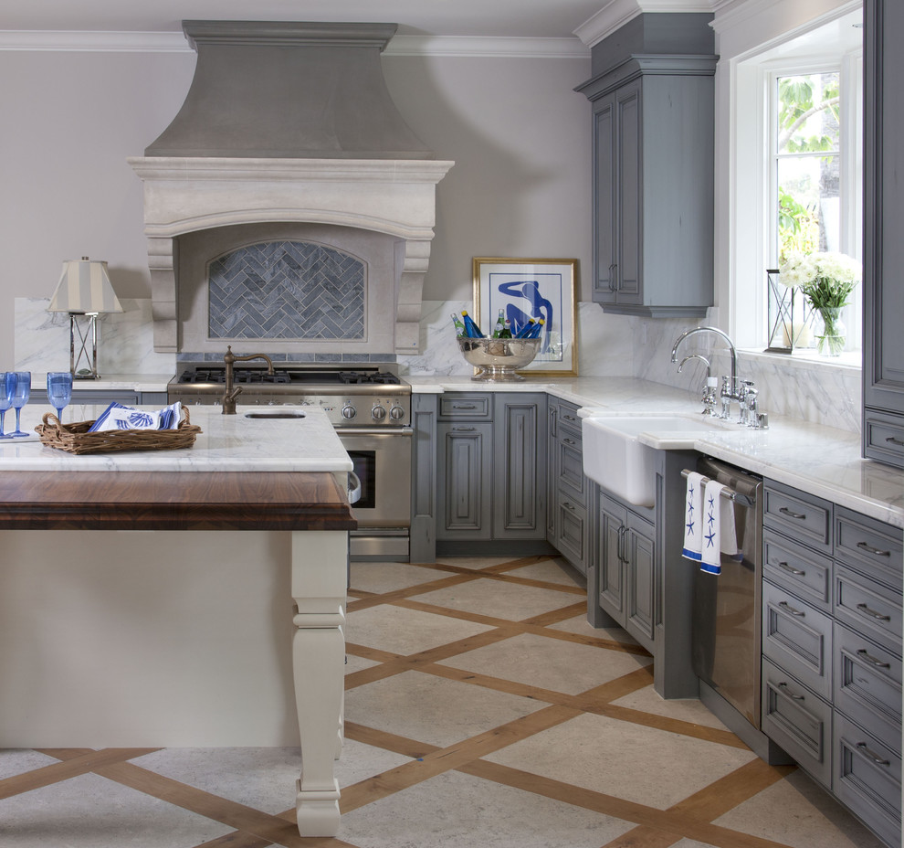 Irish Sea Kitchen Traditional Kitchen San Diego By Flagg Coastal Homes Houzz