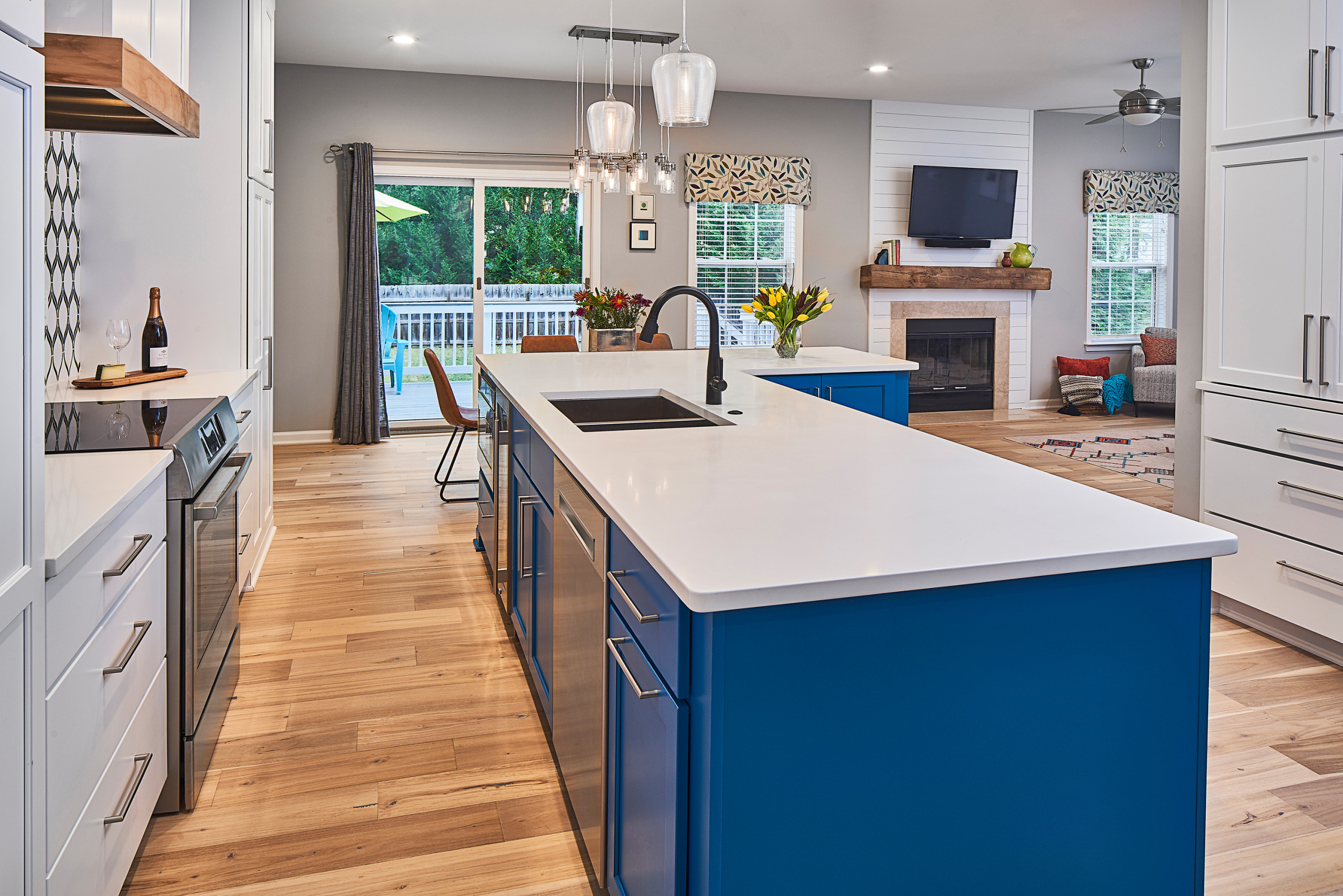 75 Beautiful Blue Kitchen Cabinets Pictures Ideas Houzz
