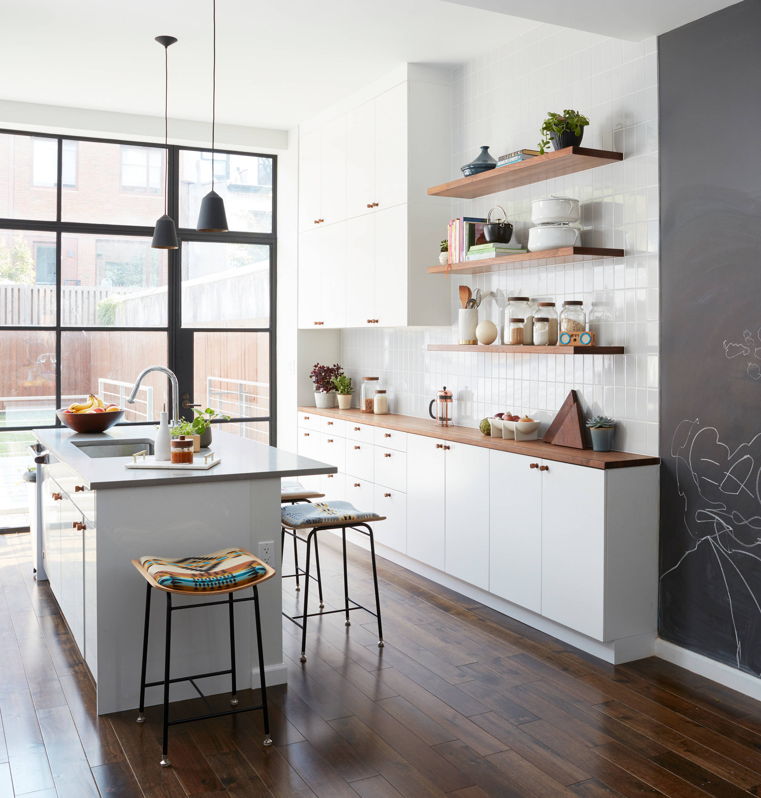 75 Beautiful Kitchen With Wood Countertops Pictures Ideas January 2021 Houzz