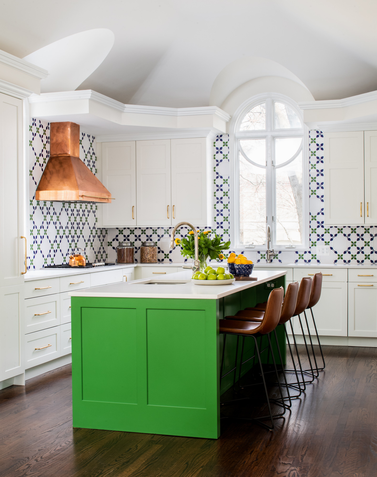 75 Beautiful Kitchen With Multicolored Backsplash Pictures Ideas January 2021 Houzz