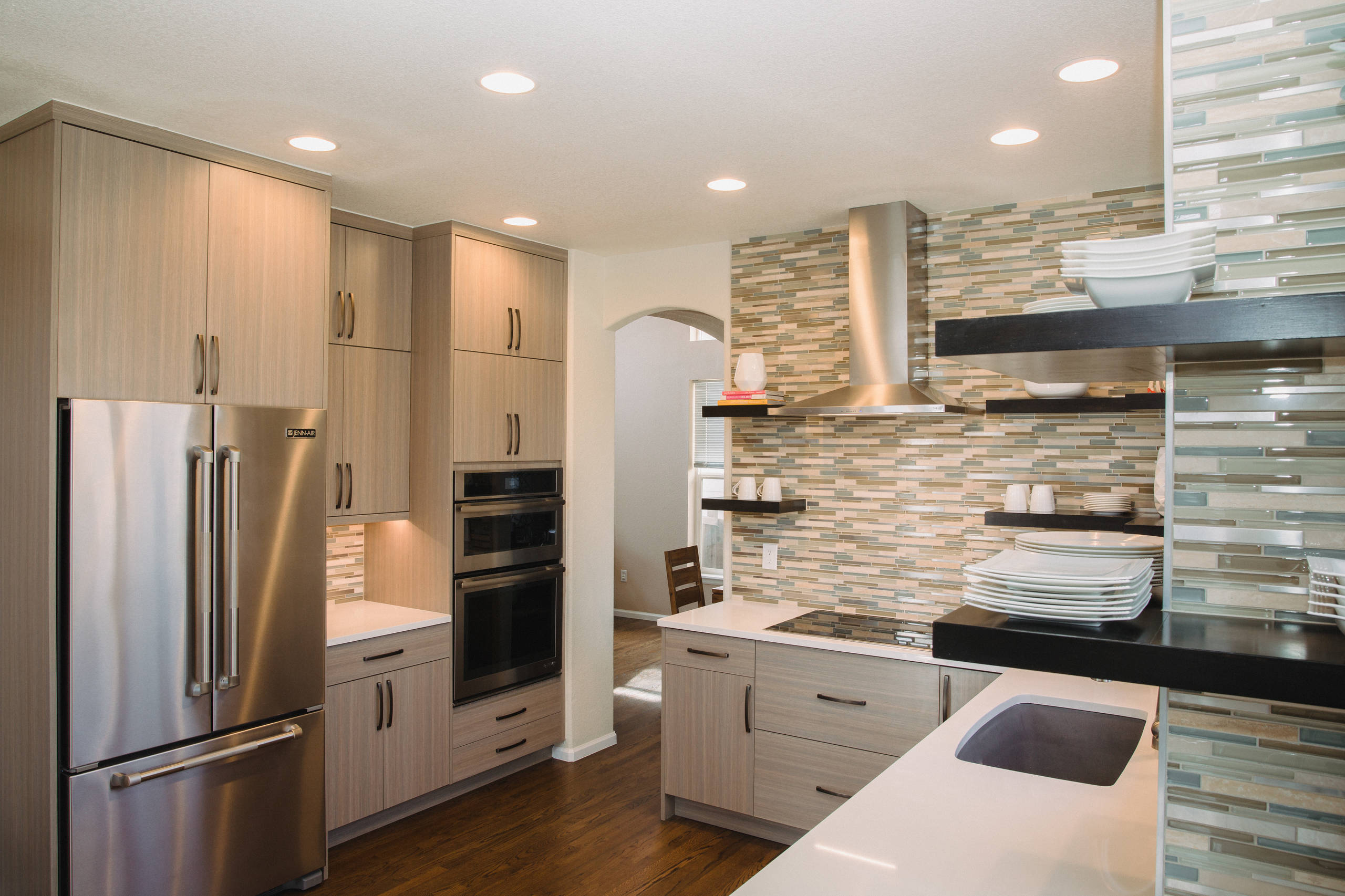 Textured Laminate Cabinets Ideas Photos Houzz