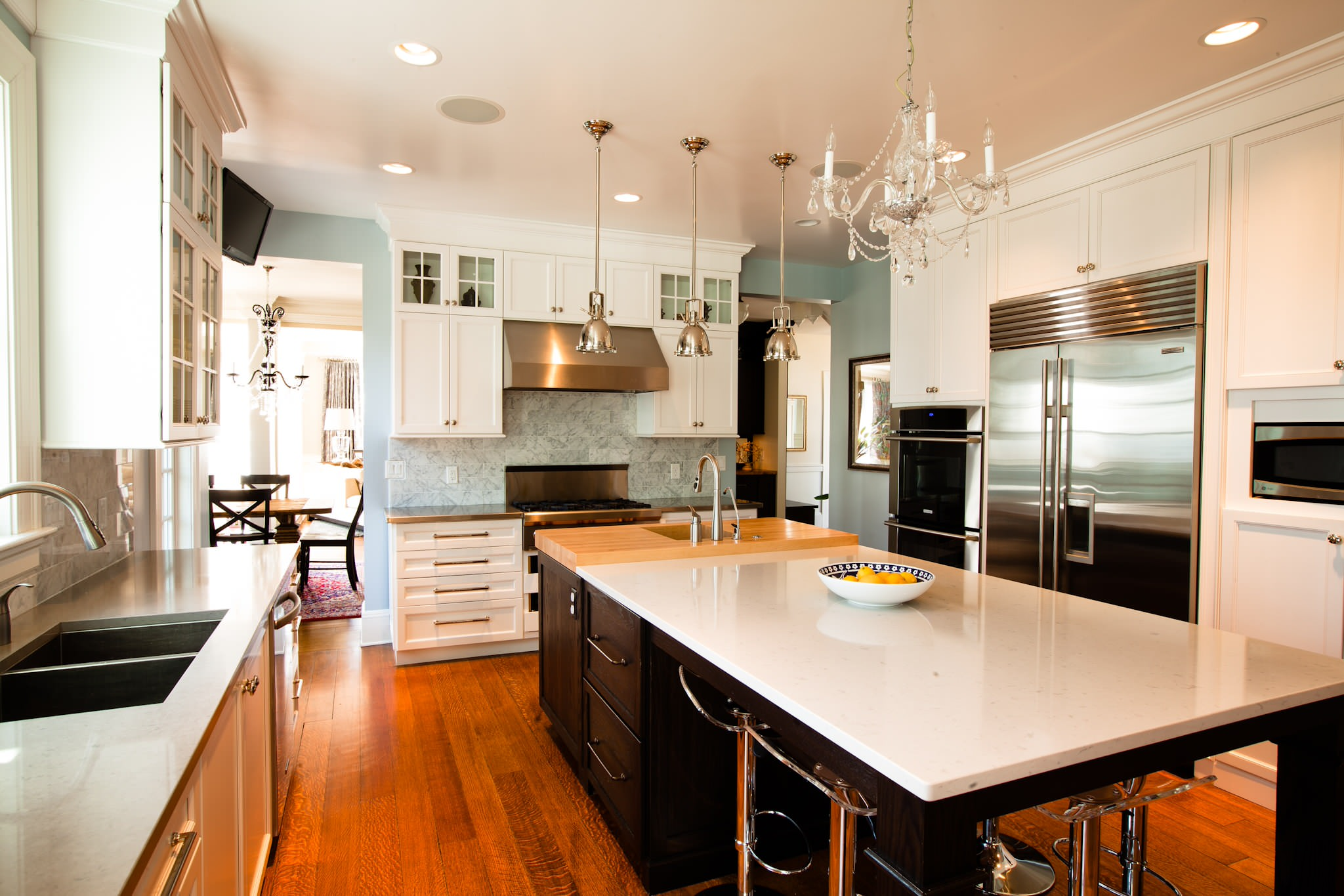 Transitional Glam Kitchen Traditional Kitchen Chicago By Normandy Remodeling Houzz
