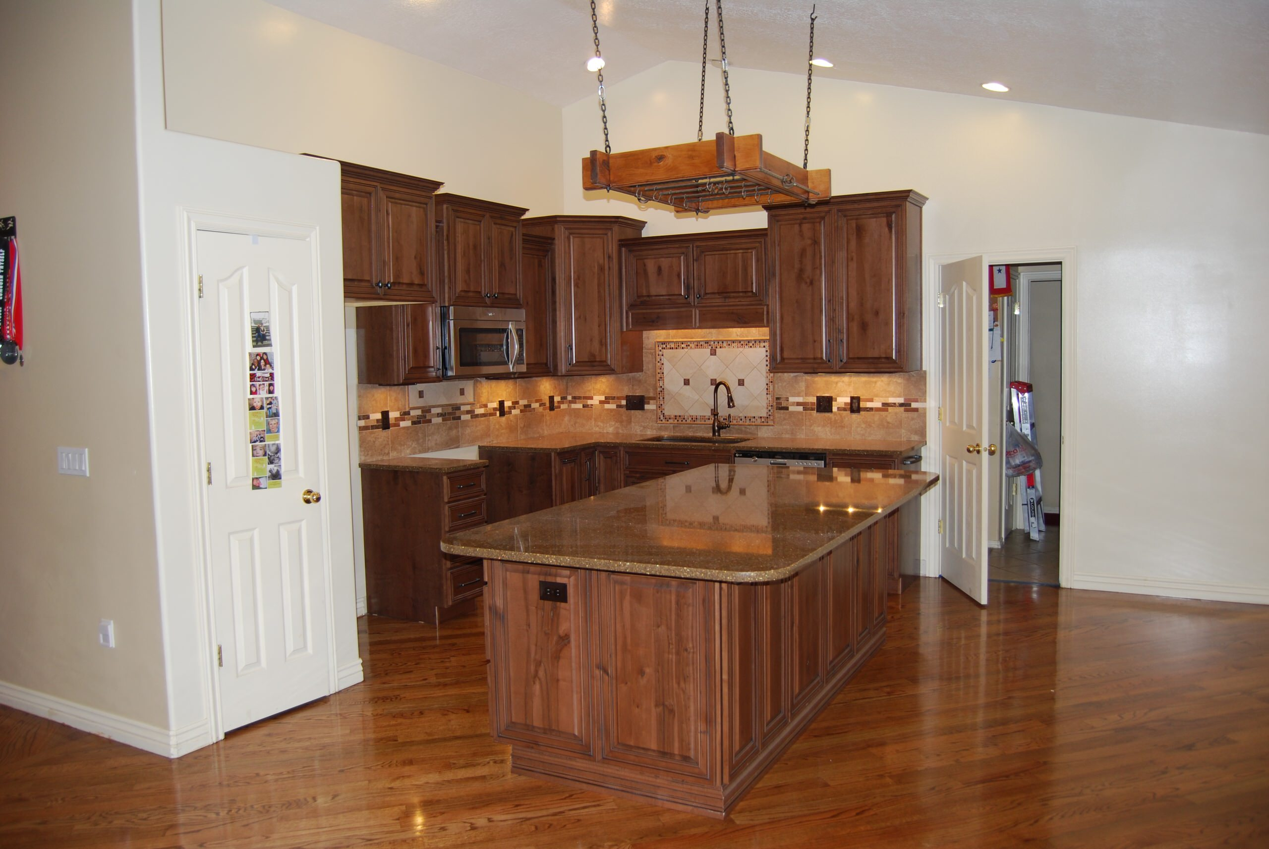 Knotty Maple Cabinets Houzz