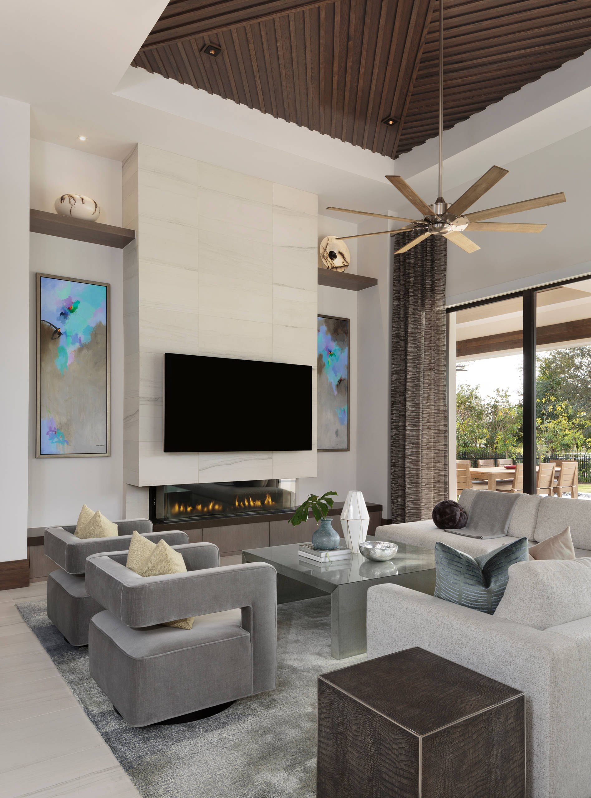 75 Beautiful Modern Living Room Pictures Ideas April 2021 Houzz