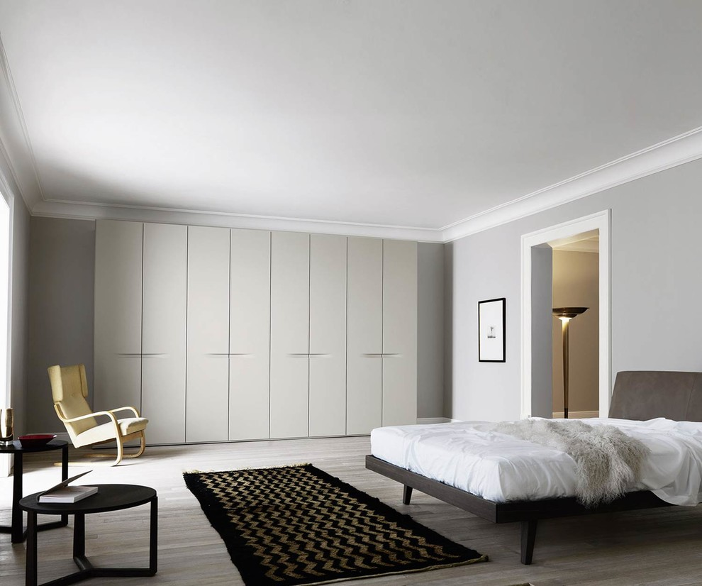 Design Kleiderschrank Hell Contemporary Bedroom Berlin By Livarea