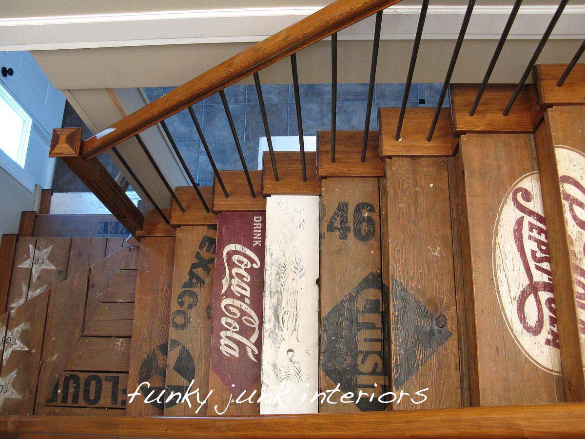 Funky Junk Interiors Eclectic Staircase Vancouver By Funky Junk Interiors Houzz