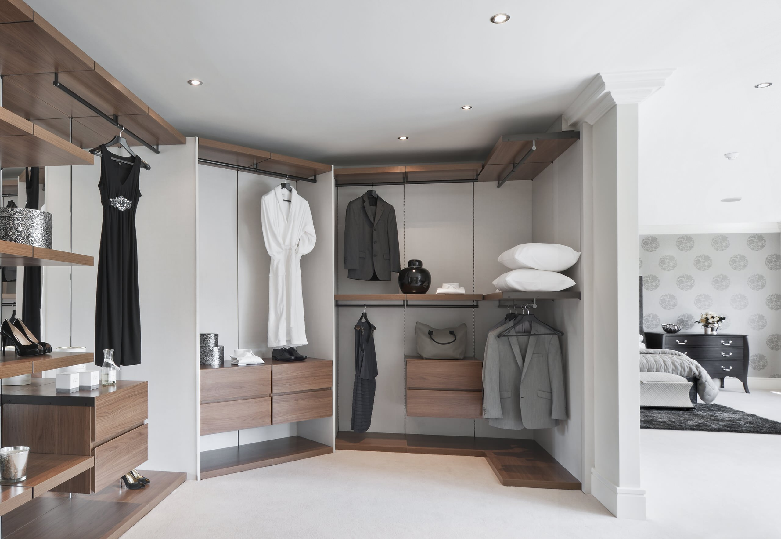 Ankleidezimmer Modern 75 Beautiful Modern Dressing Room Pictures & Ideas - May, 2021 | Houzz