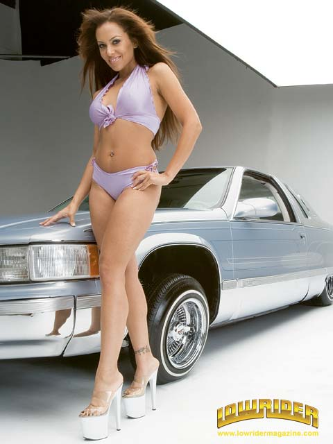 Corvette Girl Wallpaper Lowrider Model Carla Harvey Mar 2006 Lowrider Magazine