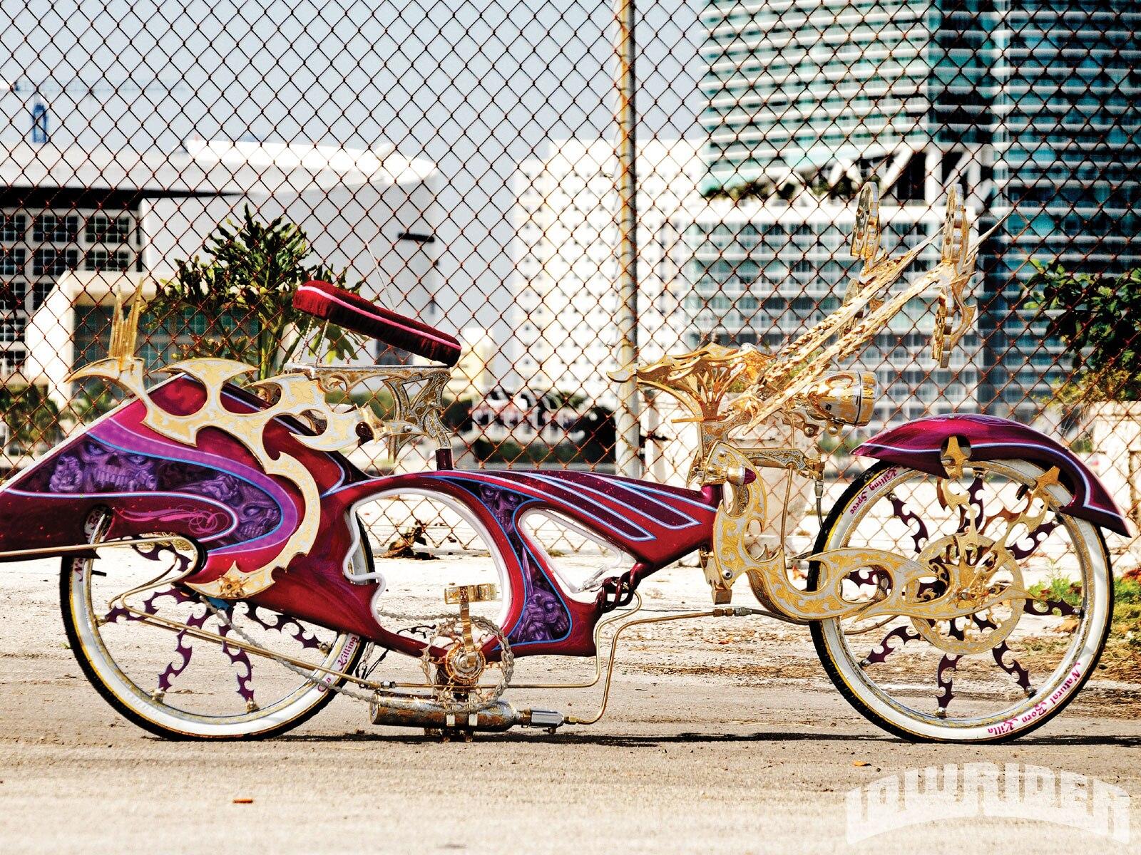 Classic Car Wallpaper Murals Natural Born Killa Custom Lowrider Bike Lowrider Magazine