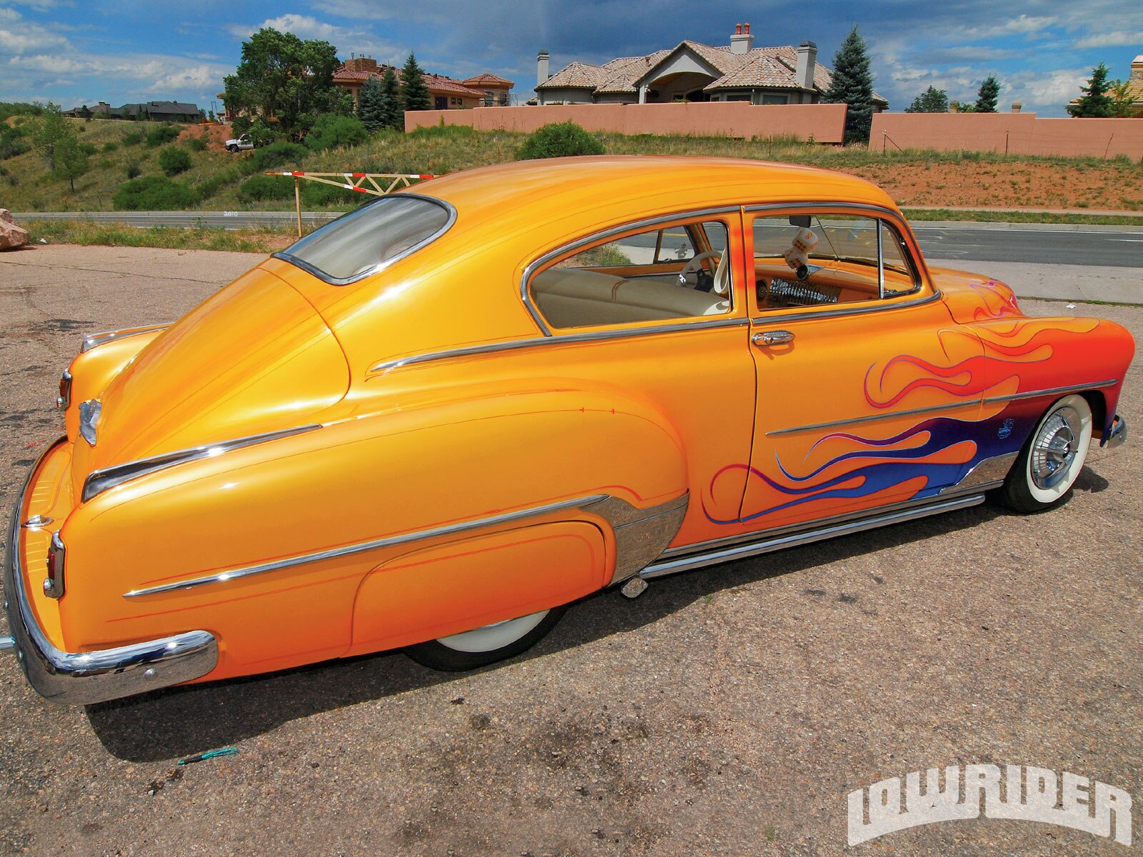 Lowrider Car Hd Wallpaper 1952 Chevrolet Torpedo Fastback Lowrider Magazine
