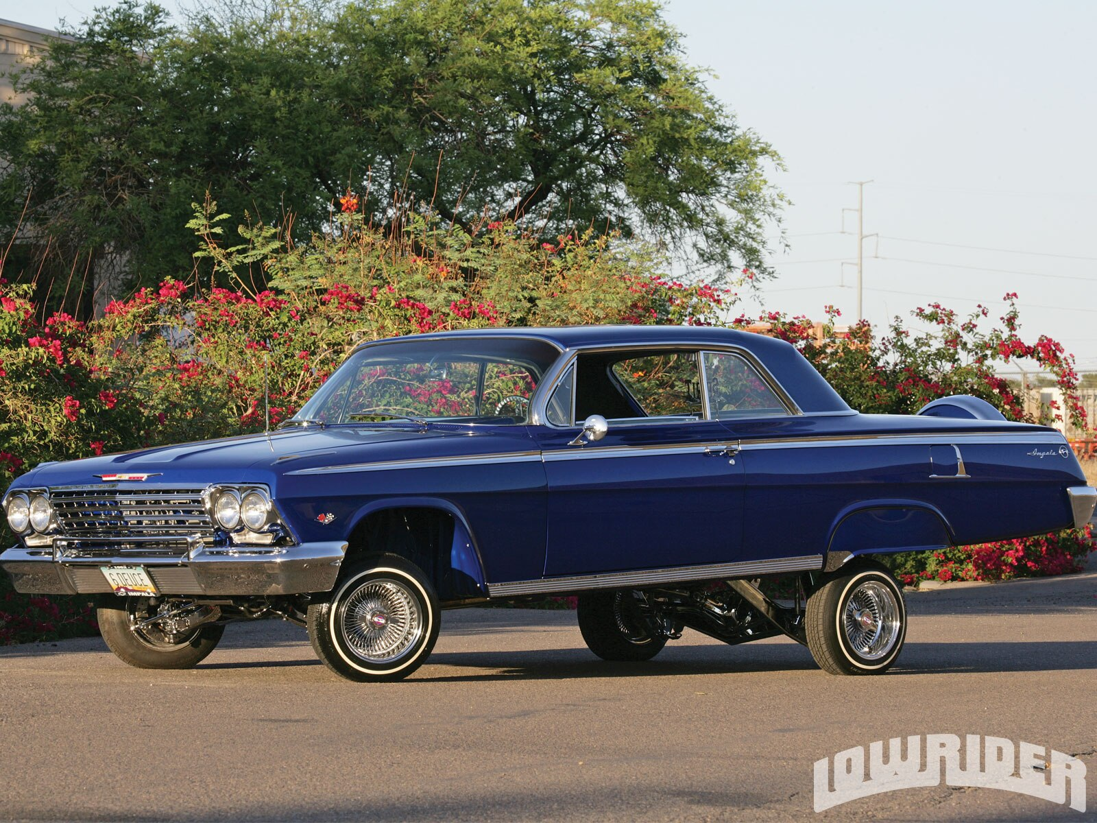 Lowrider Car Hd Wallpaper 1962 Chevrolet Impala Lowrider Magazine