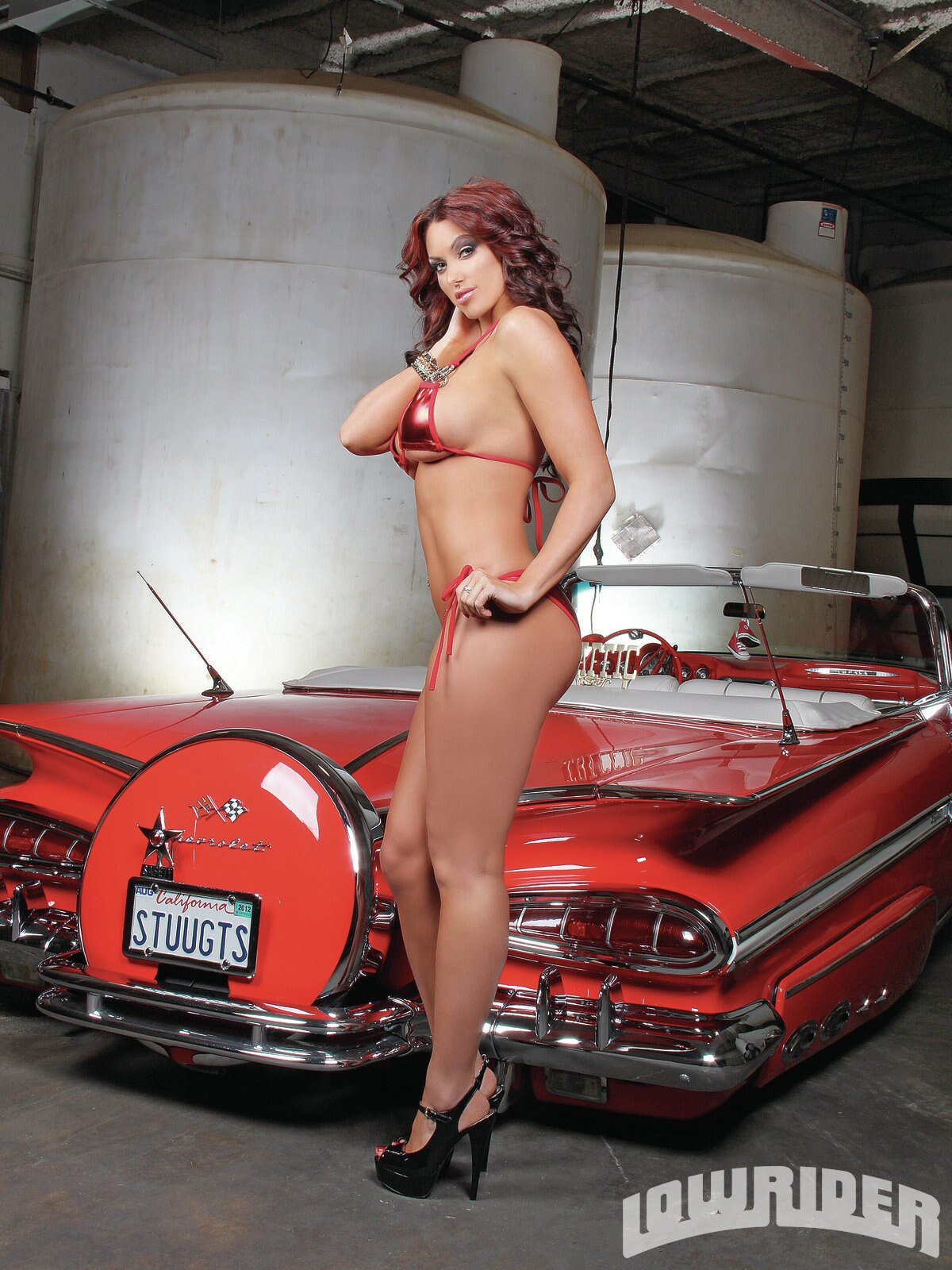 Fast Cars And Girls Wallpaper Angela Breitenbach Lowrider Girls Model Lowrider Girls
