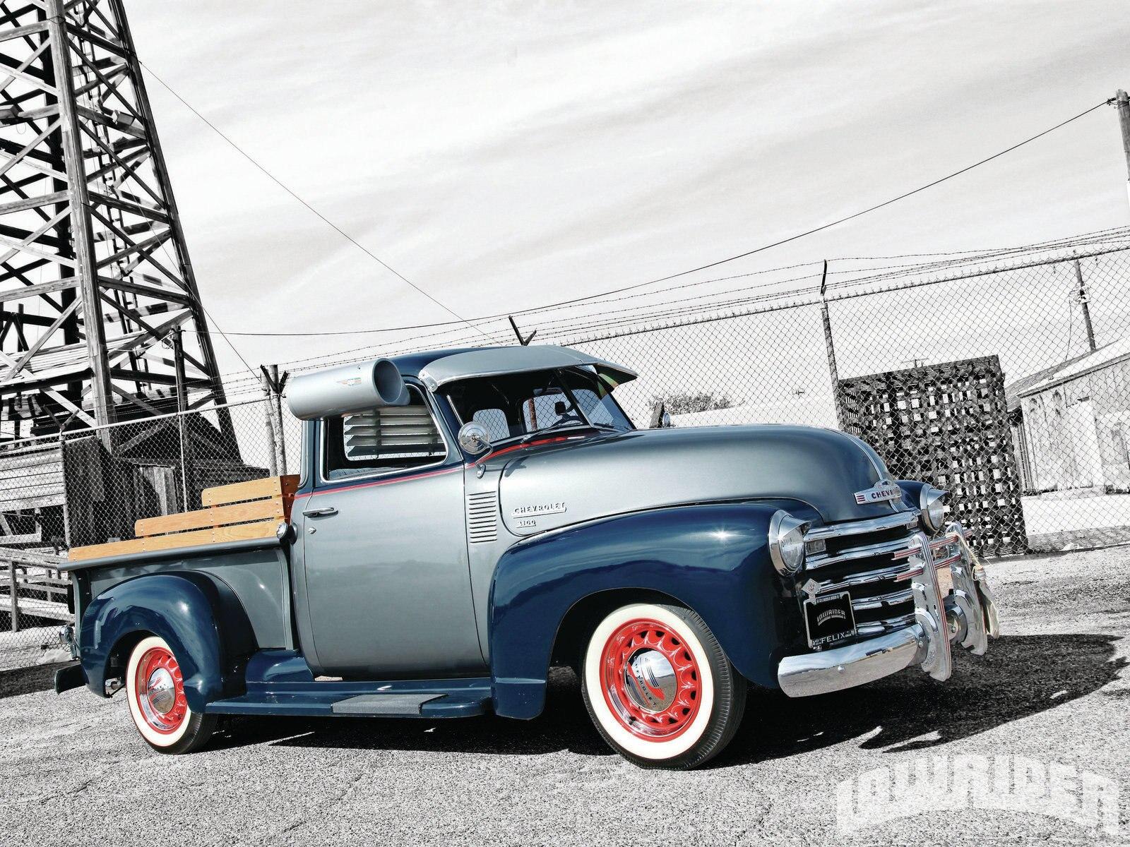 Custom Classic Car Wallpapers 1949 Chevy 3100 Truck Lowrider Magazine