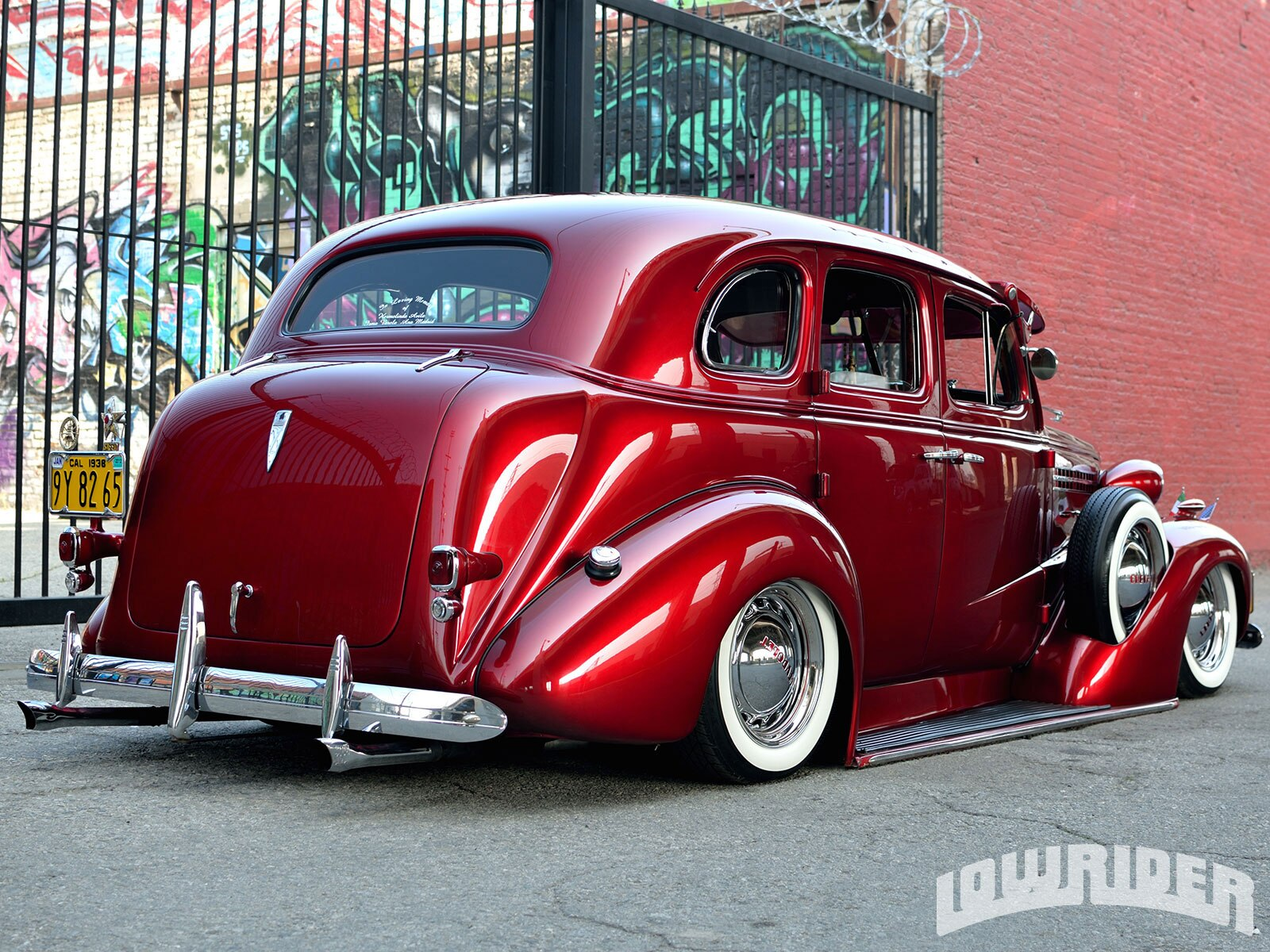 Lowrider Car Hd Wallpaper 1938 Chevrolet Master Deluxe Lowrider Magazine