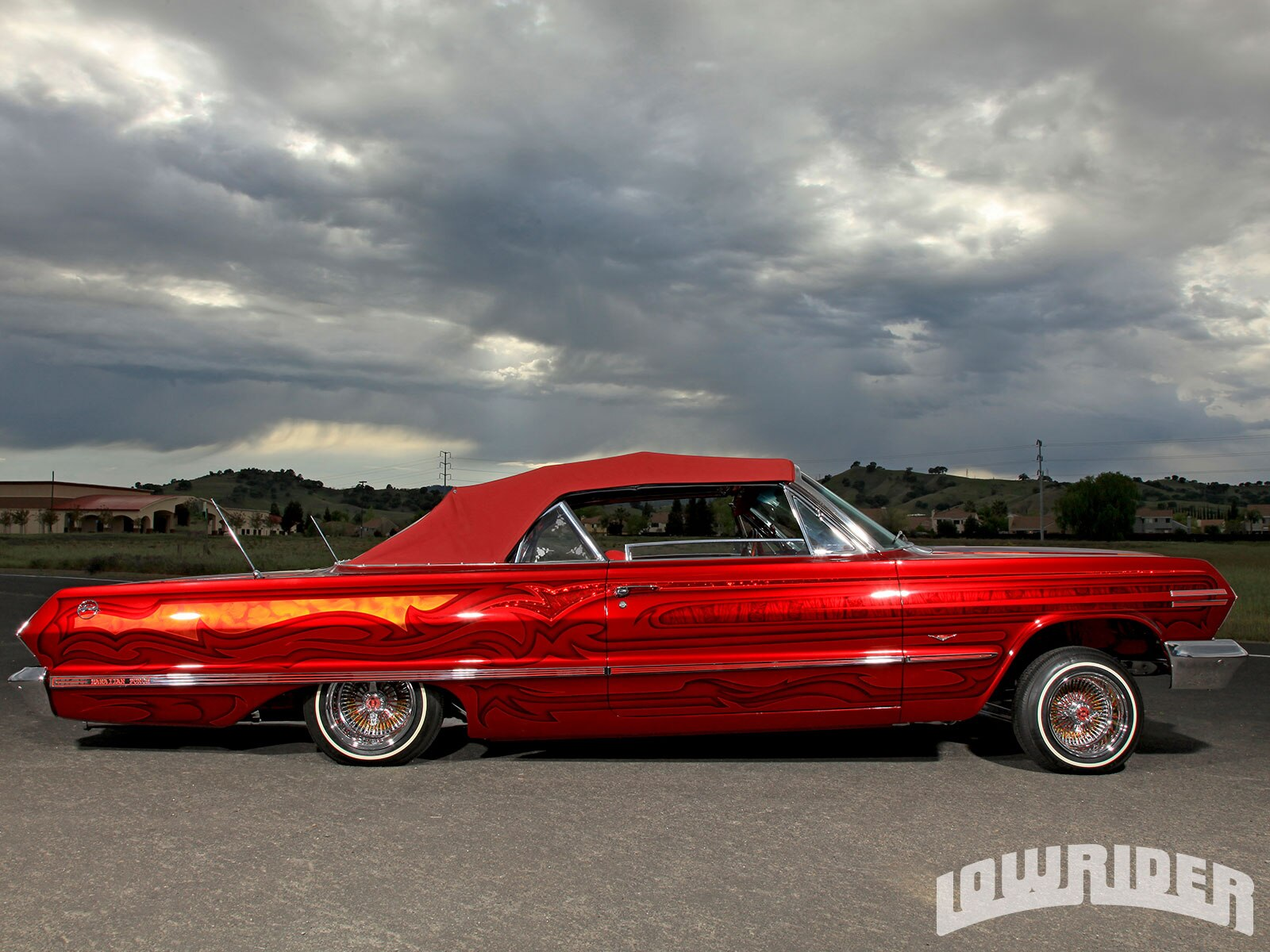 Lowrider Car Hd Wallpaper 1963 Chevrolet Impala Lowrider Magazine